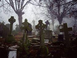 Кладбище и отворот