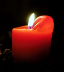 Красная свеча в магии