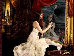 Зеркало и любовная магия